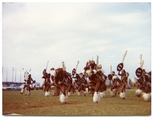 Zulu dancers in Durban, where I lived as a kid