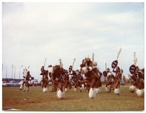 Zulu dancers in Durban, where I lived as a kid