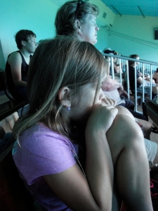 Marina, at her first Weeki Wachee show