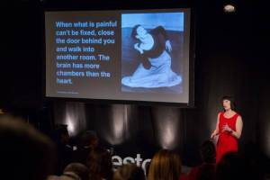 "I knew I had a story that connected with people when the crowd at TEDx in Charleston gave Byrne's ""womenisms"" thunderous applause."