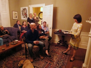 My first reading in Charleston