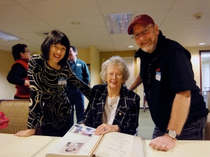Me, granny and Jerry from AARP