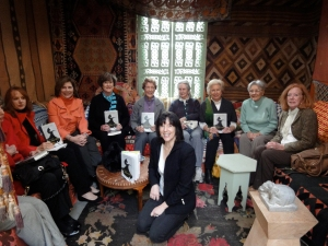 "The Peggy Verity Book Club reading ""The Other Mother"""