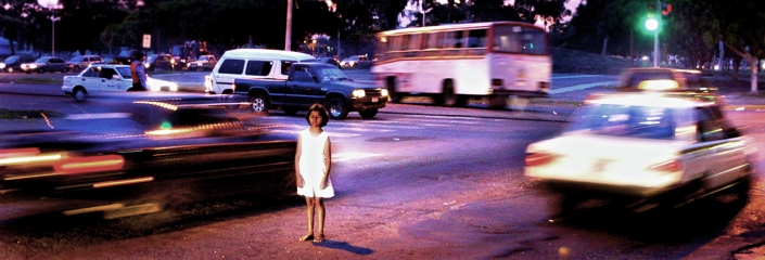 0908 nic girl in traffic